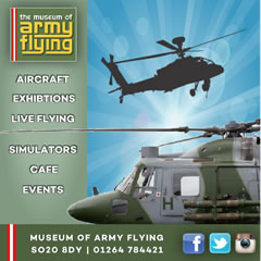 Andover and Villages What's On Guide Advertising With the Museum of Army Flying
