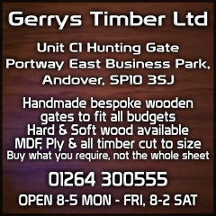 Andover Advertising With Gerry's Timber