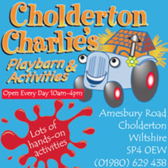 Andover and Villages What's On Guide Advertising With Cholderton Charlies