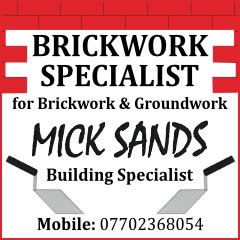 Mick Sands Building Specialist