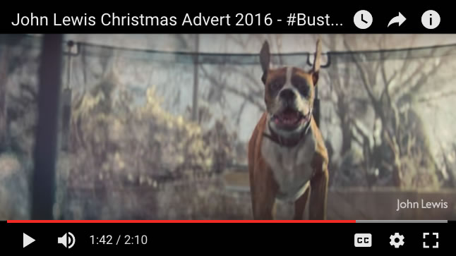 John Lewis Christmas Advert 2016 Launches