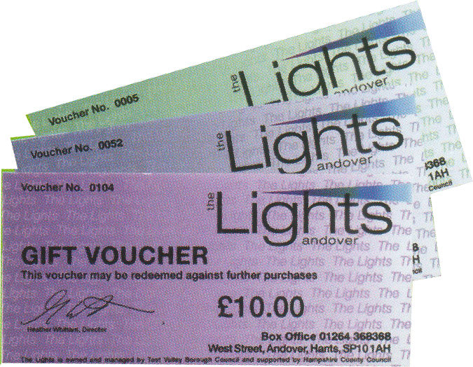 What's On | Gift Voucher Amnesty at The Lights | Andover & Villages