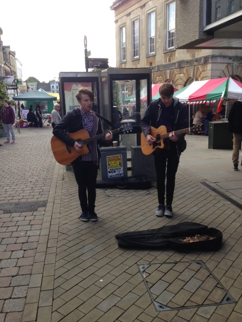 Outside Central Perform in Andover Town Centre